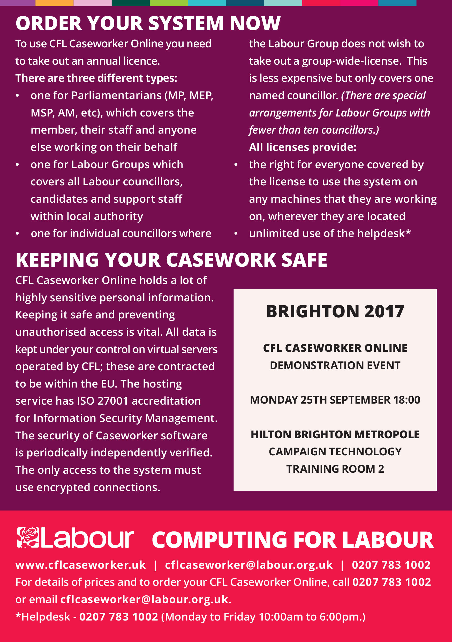 Computing for Labour Caseworker Online Hilton Brighton Metropole-2