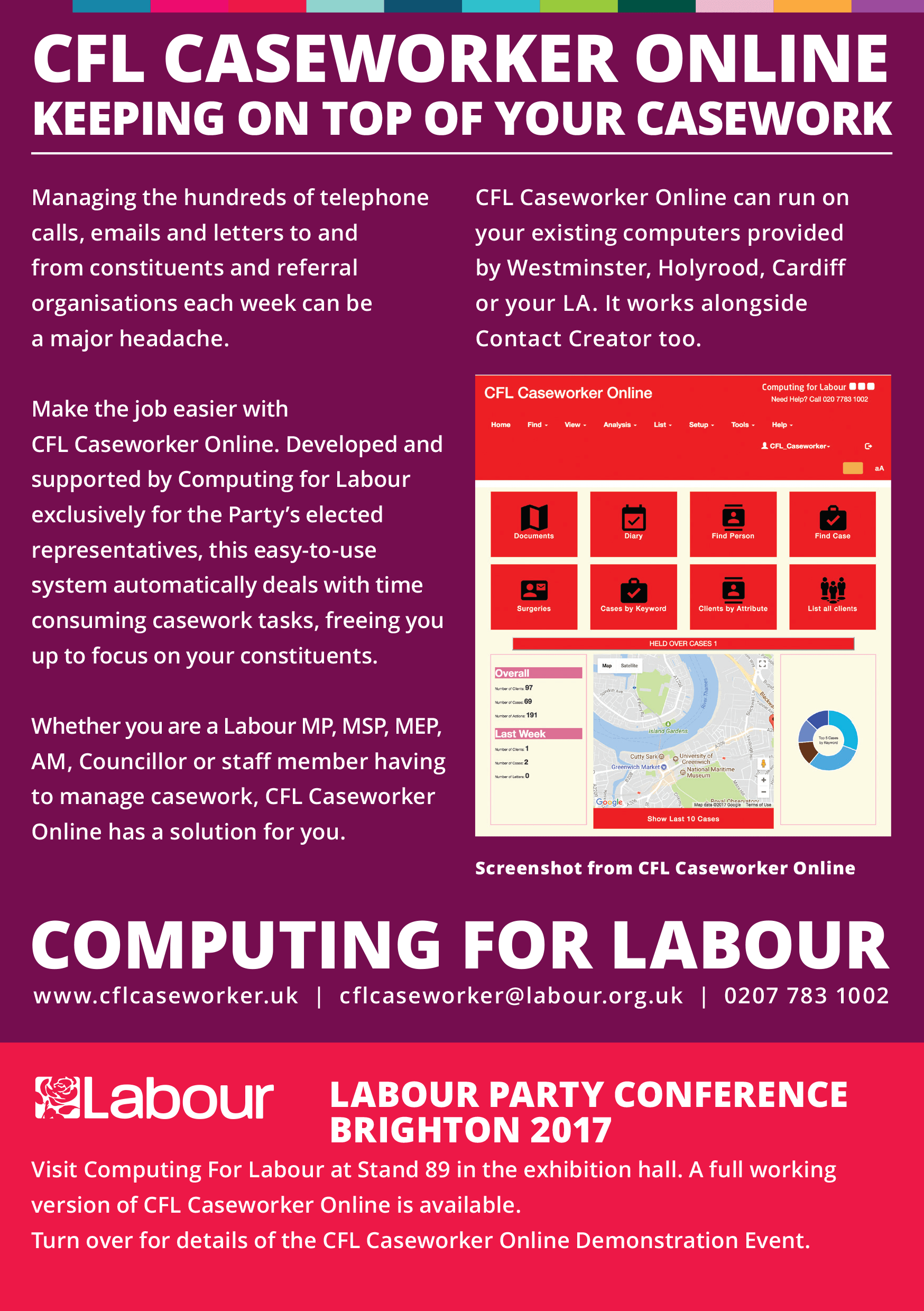Computing for Labour Caseworker Online Hilton Brighton Metropole