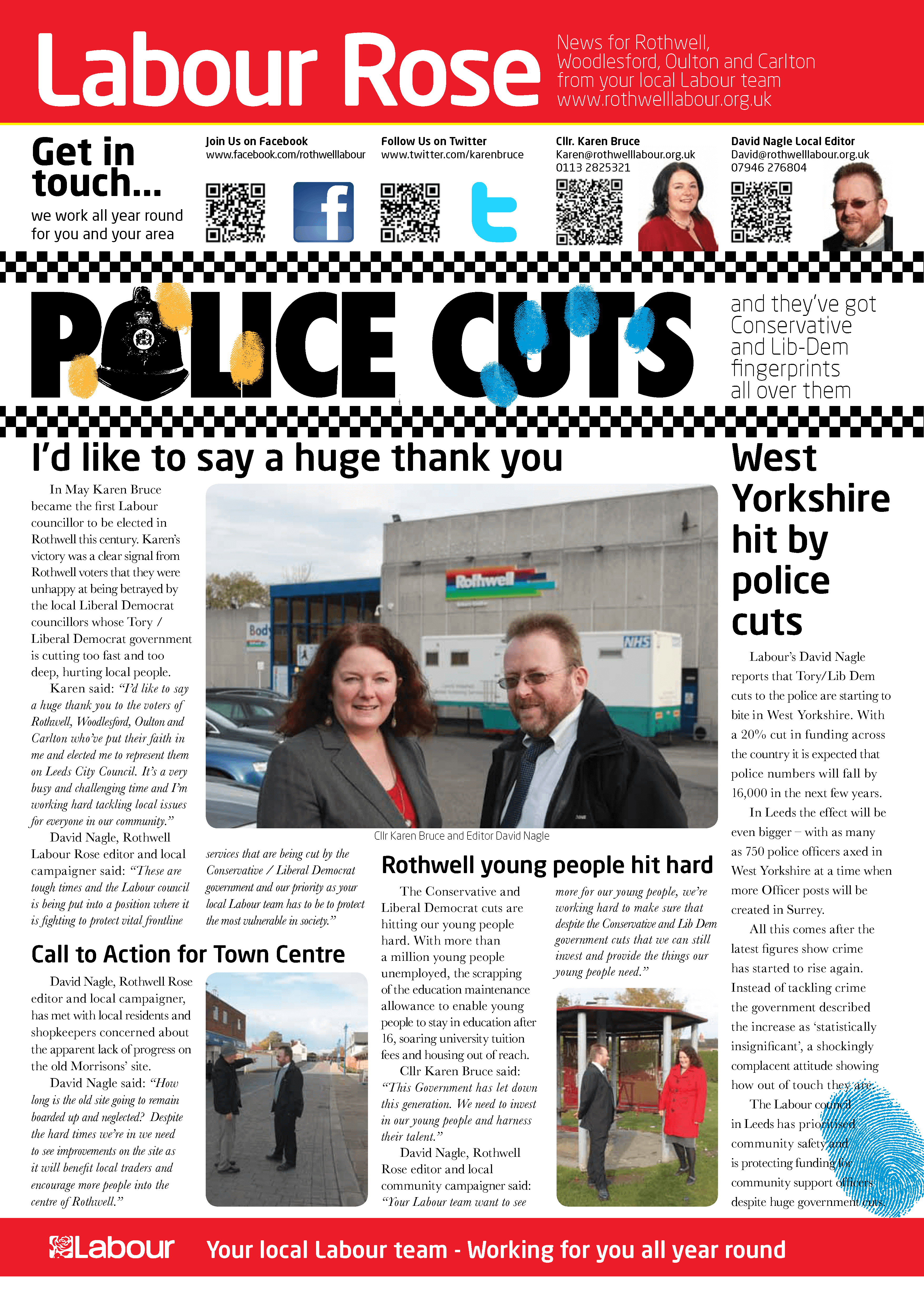 Labour Rose Rothwell Police Cuts