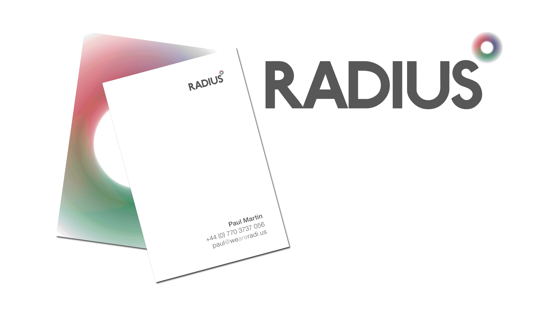 Radius Branding Identity and Business Card