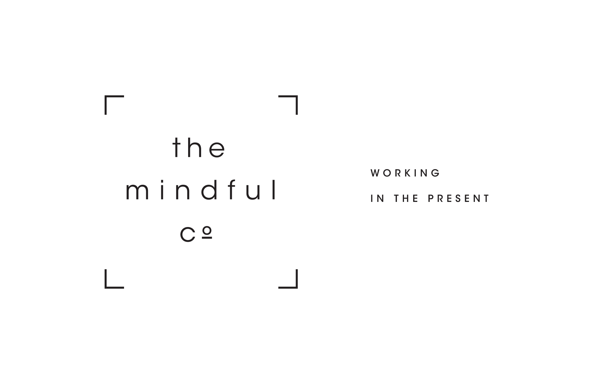 The Mindful Co Business Card Front